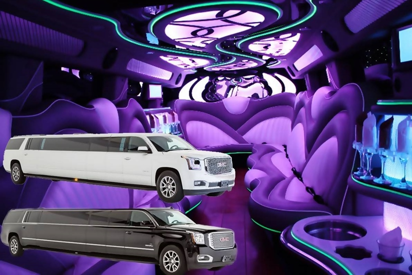 Yukon Denali Stretch Limo