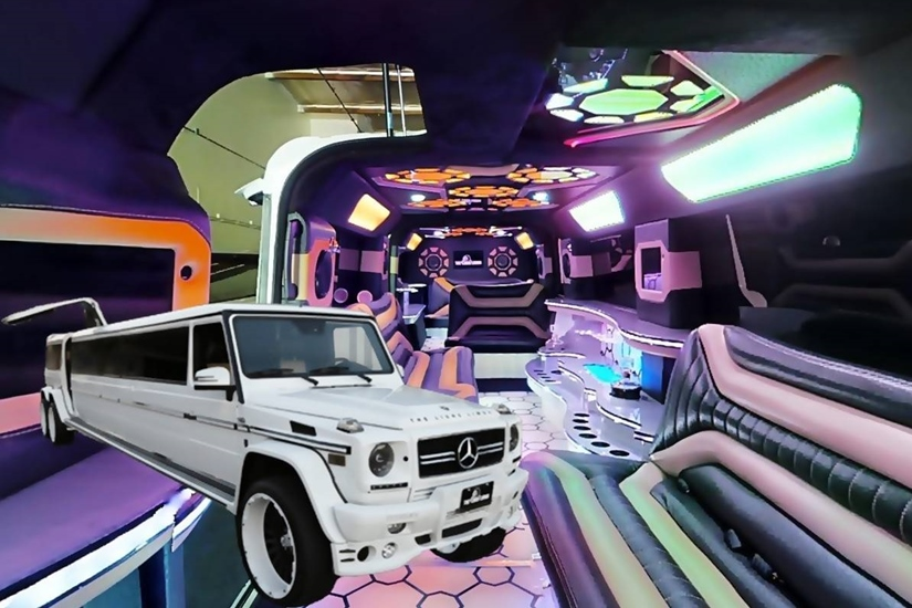 Mercedes Benz G Wagon Limo