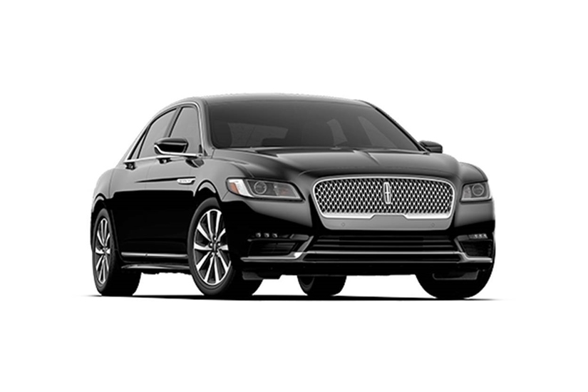 Luxury lincoln sedan